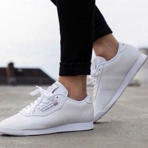 Reebok | Classic Princess White Leather Sneakers